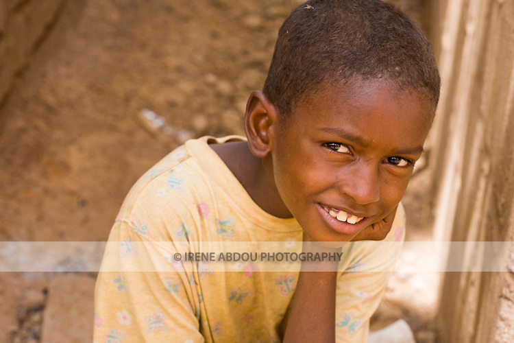 Fulani boy in Ouagadougou, Burkina Faso.