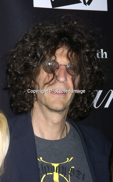 """Howard Stern ..at The Premiere Party for """"Living with Fran""""  sponsored by ..Pureromance.com on April 8, 2005 at Cain Lounge. ..Photo by Robin Platzer, Twin Images"""