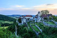 France, Jura (39), Ch&acirc;teau-Chalon, class&eacute; dans Les Plus Beaux Villages de France, le soir // France, Jura, Chateau Chalon, labelled Les Plus Beaux Villages de France (The Most beautiful<br /> Villages of France)