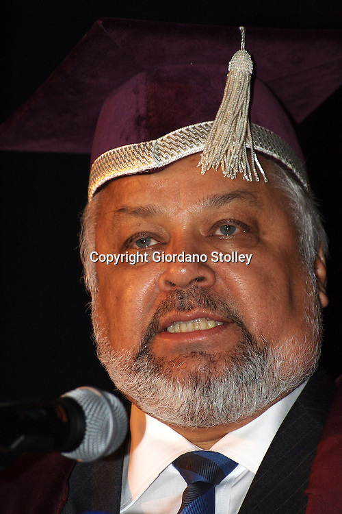 DURBAN - 28 August 2007 - Professor Roy du Pre, speaks at his inauguration as vice chancellor of the Durban University of Technology (DUT). DUT was formed through the merger of Technikon Natal and ML Sultan Technikon in 2002..Picture: Giordano Stolley/Allied Picture Press