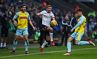 Bolton Wanderers' Gary O'Neil competing with Rotherham United's Joe Mattock and Joe Newell<br /> <br /> Photographer Andrew Kearns/CameraSport<br /> <br /> The EFL Sky Bet Championship - Bolton Wanderers v Rotherham United - Wednesday 26th December 2018 - University of Bolton Stadium - Bolton<br /> <br /> World Copyright © 2018 CameraSport. All rights reserved. 43 Linden Ave. Countesthorpe. Leicester. England. LE8 5PG - Tel: +44 (0) 116 277 4147 - admin@camerasport.com - www.camerasport.com