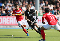 NZ's Blair Tarrant in action during the Olympic Qualifier Hockey match between the Blacksticks Men and Korea at TET Multisport Centre in Stratford, New Zealand on Saturday, 2 November 2019. Photo: Simon Watts / www.bwmedia.co.nz