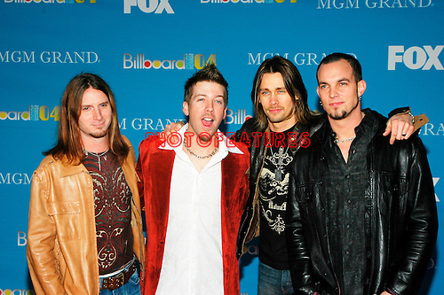 Alter Bridge at the 2004 Billboard Music Awards at the MGM Grand in Las Vegas, December 8th 2004.