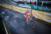 Lars Van der Haar (NLD/Giant-Shimano)<br /> <br /> Superprestige Francorchamps 2014