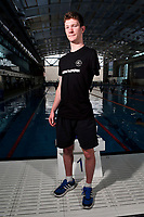Celyn Edwards, New Zealand swimming team announcement for the 2018 Commonwealth Games. Sir Owen G. Glenn National Aquatic Centre, Auckland. 22 December 2017. Copyright Image: William Booth / www.photosport.nz
