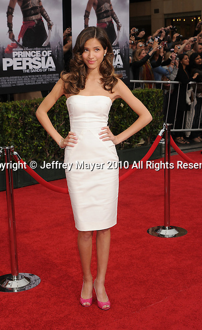 "HOLLYWOOD, CA. - May 17: Kelsey Chow arrives at the ""Prince of Persia: The Sands of Time"" Los Angeles Premiere held at Grauman's Chinese Theatre on May 17, 2010 in Hollywood, California."