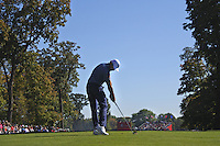 Raffa Cabrera-Bello (Team Europe) on the 4th tee during the Friday afternoon Fourball at the Ryder Cup, Hazeltine national Golf Club, Chaska, Minnesota, USA.  30/09/2016<br /> Picture: Golffile | Fran Caffrey<br /> <br /> <br /> All photo usage must carry mandatory copyright credit (&copy; Golffile | Fran Caffrey)