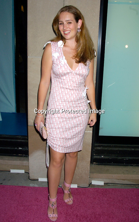 Gillian Hearst ..at the opening of the new Pucci Store on Fifth Avenue ..on September 7, 2004 in New York City. Photo By Robin Platzer, Twin Images