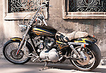 Harley Davidson 02 - Harley Davidson motorbike, Istanbul, Turkey