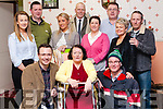 Athea Drama Group performed &ldquo;Pretend Sick&rdquo; by Michael J. Jinnelly last Sunday night in the Con Colbert Hall The Cast prior to treading the boards<br /> Back: Sarah McNulty, Leo Collins, Louise Ahern, Tony halpin, Nora Hunt,<br /> John McNulty, Annette O&rsquo; Donnell, Rogrer Ryan.<br />  Front: Mikey O&rsquo; Connor, theresa O&rsquo; Halloran, Denis Casey.