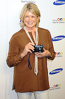 NEW YORK CITY, NY, USA - JUNE 10: Martha Stewart at the 13th Annual Samsung Hope For Children Gala held at Cipriani Wall Street on June 10, 2014 in New York City, New York, United States. (Photo by Celebrity Monitor)