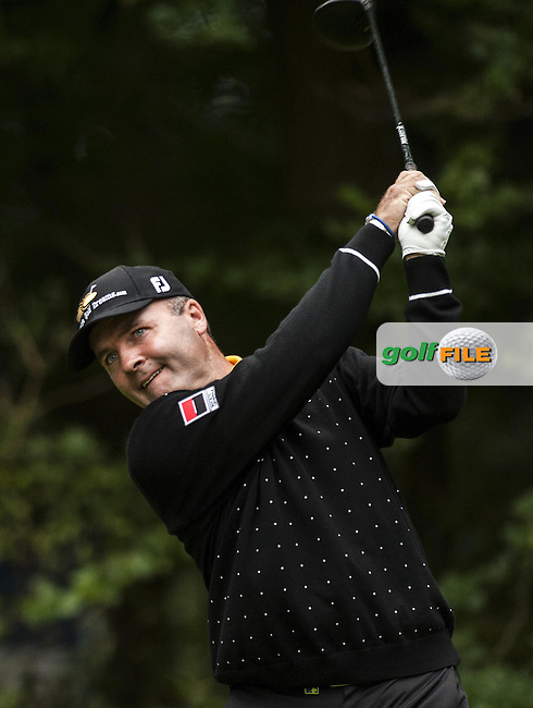 06-09-12 European Tour 2012, KLM Open, Hilversumsche Golf, Hilversum, The Netherlands. 06-09 Sep. Thomas  Levet of France during the first round..Picture: golfsupport/golffile.ie.