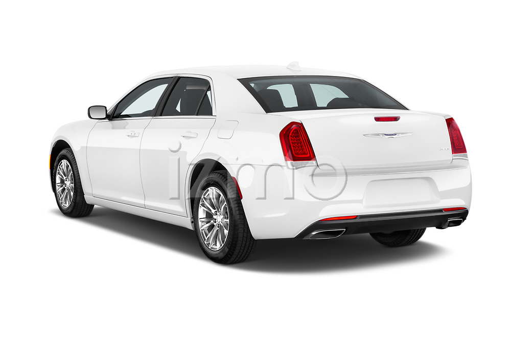 Car pictures of rear three quarter view of 2017 Chrysler 300 Limited 4 Door Sedan Angular Rear
