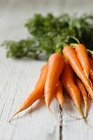 Cuisine/Gastronomie générale:  Carottes fannes bio