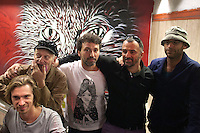 French Writers Epsylon Point, Christian Guemy, in arte C215, Popay and Philippe Baudelocque<br /> Roma 08-05-2014 Stazione Metro Piazza di Spagna. Sei writers francesi hanno accettato, in due notti, di fare altrettanti murales di street art nella stazione della Metro Piazza di Spagna. Le stesse immagini saranno stampate su speciali biglietti della metro e per un periodo limitato di tempo. <br /> Six french writers accepted to paint six murales to embellish the Rome's Metro Station Spanish Steps (Spain Square). The paintings will be printed on a special edition of tickets, sold for a limited period.<br /> Photo Samantha Zucchi Insidefoto