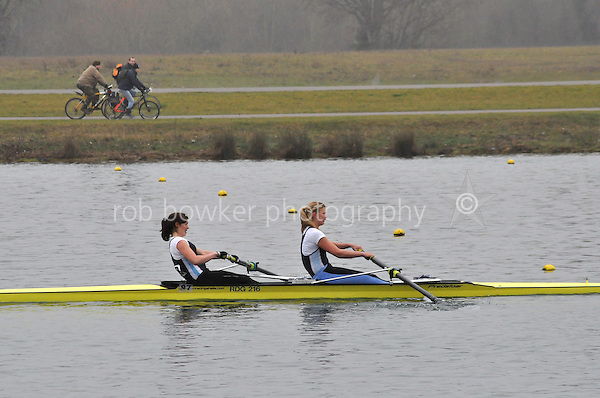 109 Reading RC W.SEN.2‐..Marlow Regatta Committee Thames Valley Trial Head. 1900m at Dorney Lake/Eton College Rowing Centre, Dorney, Buckinghamshire. Sunday 29 January 2012. Run over three divisions.