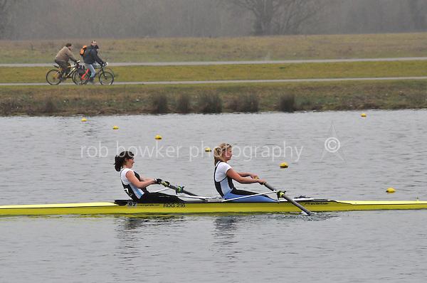 109 ReadingRC W.SEN.2‐..Marlow Regatta Committee Thames Valley Trial Head. 1900m at Dorney Lake/Eton College Rowing Centre, Dorney, Buckinghamshire. Sunday 29 January 2012. Run over three divisions.