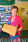 Principal Anne O'Sullivan of Castleisland Community College retires with over 30 years service at a celebration Mass at the school on Monday