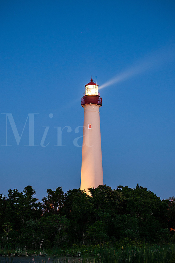 Cape May lighthouse, Cape May,  New Jerey, USA