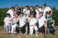 04 July 2010: Cougars Montigny, little league, championnat Minimes Cadets, Ronchin, France.