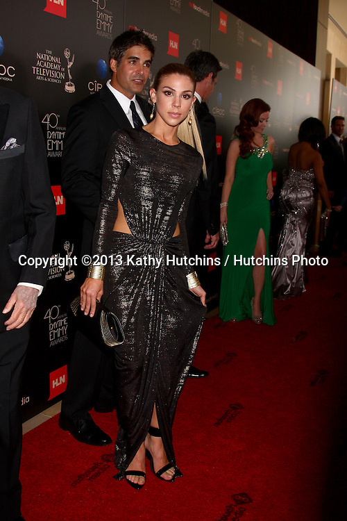 LOS ANGELES - JUN 16:  Kate Mansi arrives at the 40th Daytime Emmy Awards at the Skirball Cultural Center on June 16, 2013 in Los Angeles, CA