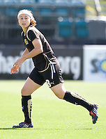 24 May 2009: Tiffany Weimer of the FC Gold Pride in action during the game against Los Angeles Sol at Buck Shaw Stadium in Santa Clara, California.  Los Angeles Sol defeated FC Gold Pride, 2-0.
