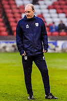 Cardiff City's coach James Rowberry cduring the Sky Bet Championship match between Sheff United and Cardiff City at Bramall Lane, Sheffield, England on 2 April 2018. Photo by Stephen Buckley / PRiME Media Images.