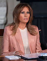 MAR 18 Melania Trump Hosts an Interagency Meeting