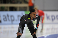 SCHAATSEN: BERLIJN: Sportforum, Essent ISU World Cup Speed Skating | The Final, 09-03-2012, 1500m Men, Shani Davis (USA), ©foto Martin de Jong