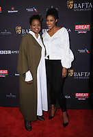 06 January 2018 - Beverly Hills, California - Dee Rees, Sarah Broom. 2018 BAFTA Tea Party held at The Four Seasons Los Angeles at Beverly Hills in Beverly Hills.    <br /> CAP/ADM/BT<br /> &copy;BT/ADM/Capital Pictures