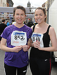 Tanya and Zara Kennedy who took part in the Boyne 10K run. Photo: Colin Bell/pressphotos.ie