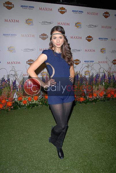Troian Bellisario<br /> at the 11th Annual MAXIM &quot;HOT 100&quot; Party, Paramount Studios, Hollywood, CA. 05-19-10<br /> David Edwards/DailyCeleb.Com 818-249-4998