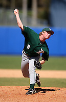 March 23, 2010:  Pitcher Max Langford of the Dartmouth Big Green during a game at the Chain of Lakes Stadium in Winter Haven, FL.  Photo By Mike Janes/Four Seam Images
