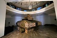 Kassel, Germany. Opening days of documenta14.<br /> Fridericianum.<br /> Andreas Angelidakis: Polemos, 2017