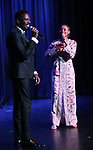 Colman Domingo and Ariana DeBose during the Vineyard Theatre Gala honoring Colman Domingo at the Edison Ballroom on May 06, 2019 in New York City.