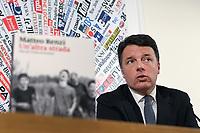 Matteo Renzi presenta il nuovo libro