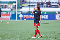 Portland, OR - Saturday June 17, 2017: Meleana Shim during a regular season National Women's Soccer League (NWSL) match between the Portland Thorns FC and Sky Blue FC at Providence Park.