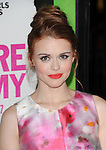 Holland Roden attends The Weinstein Company L.A. Premiere of Vampire Academy held at The Premiere House at Regal Cinemas L.A. Live Stadium 14 in Los Angeles, California on February 04,2014                                                                               © 2014 Hollywood Press Agency