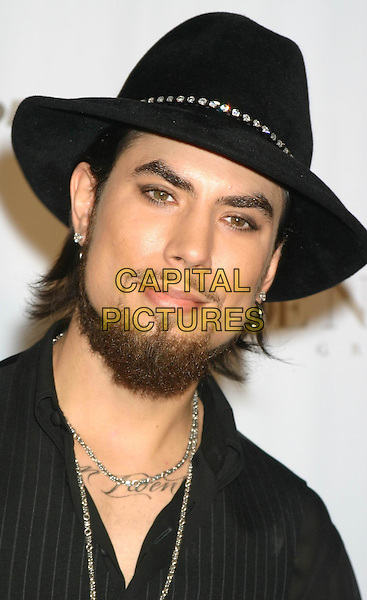 DAVE NAVARRO.Conde' Nast Media Group Presents Fashion Rocks 2004   Radio City Music Hall in New York City..September 8, 2004 .headshot, portrait, hat, beard, goatee, facial hair, tattoo.www.capitalpictures.com.sales@capitalpictures.com.© Capital Pictures