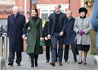 06 March 2019 - Lancashire, UK - Prince William Duke Of Cambridge and Kate Duchess of Cambridge Katherine Catherine Middleton during a visit to the Blackpool Central Library where they will join two separate discussions focussing on issues and initiatives of particular relevance to each of their ongoing charitable interests. Photo Credit: ALPR/AdMedia