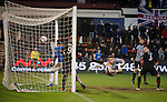 Jon Daly's downward header hits the back of the net