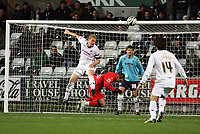 Pictured: Garry Monk of Swansea City in action <br /> Re: Carling Cup Round Four, Swansea City Football Club v Watford at the Liberty Stadium, Swansea, south Wales, Tuesday 11 November 2008.<br /> Picture by Dimitrios Legakis Photography (Athena Picture Agency), Swansea, 07815441513