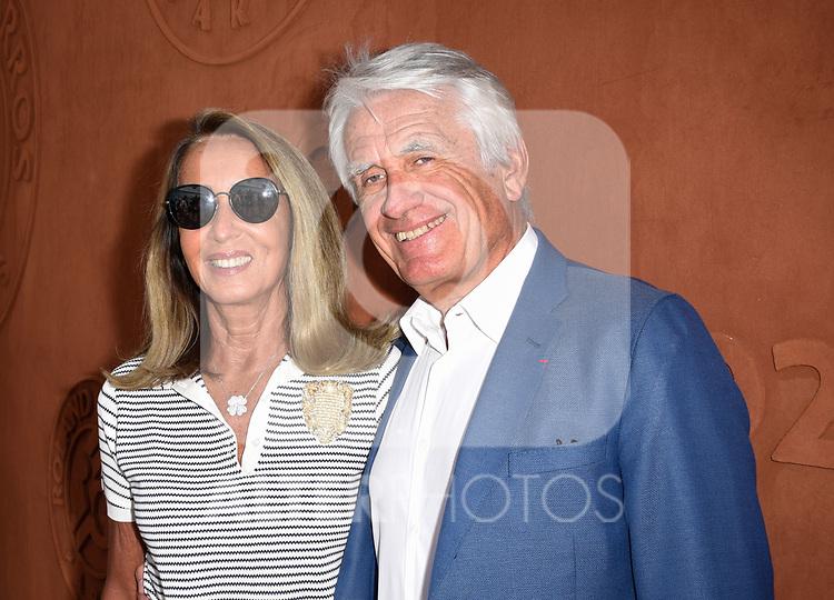 Gilbert Coullier et sa femme Nicole Coullier