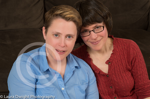 Couple in their 40s, portrait, closeup