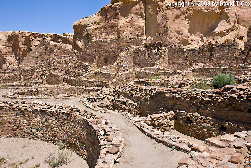 Chaco Canyon, Pueblo Bonito, New Mexico, USA