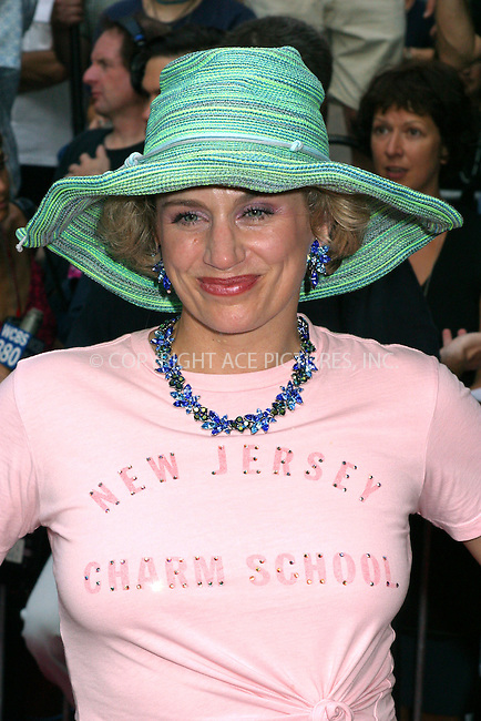 "Opening night for Broadway's newest and hottest show, ""Hairspray"" at Neil Simon Theatre. New York, August 15, 2002. Pictured is Cady Huffman. Please byline: Alecsey Boldeskul/NY Photo Press.   ..*PAY-PER-USE*      ....NY Photo Press:  ..phone (646) 267-6913;   ..e-mail: info@nyphotopress.com"