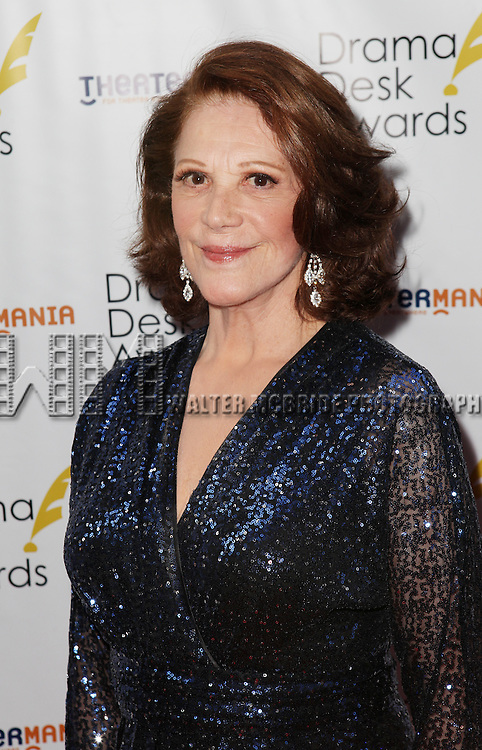 Linda Lavin pictured at the 57th Annual Drama Desk Awards held at the The Town Hall in New York City, NY on June 3, 2012. © Walter McBride