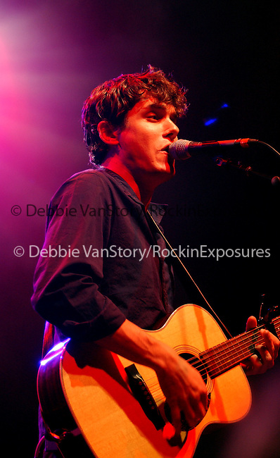 John Mayer performs live at The Greek Theatre in Los Angeles ,California on August 17,2002.Photo by Hollywood Press Agency