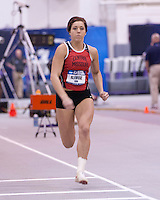 Central Missouri redshirt senior and Jefferson City High School graduate Erin Alewine captured her second straight NCAA Division II Indoor Track and Field pentathlon national title, moving into the lead on the final event and scoring 3926 points, Saturday, March 15 in Winston-Salem, NC. <br />