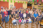 Niamh and Diarmuid O'Donoghue Kilcummin seated centre celebrate their 30th birthday's with their family and friends in Kilcummin GAA bar on Sunday night
